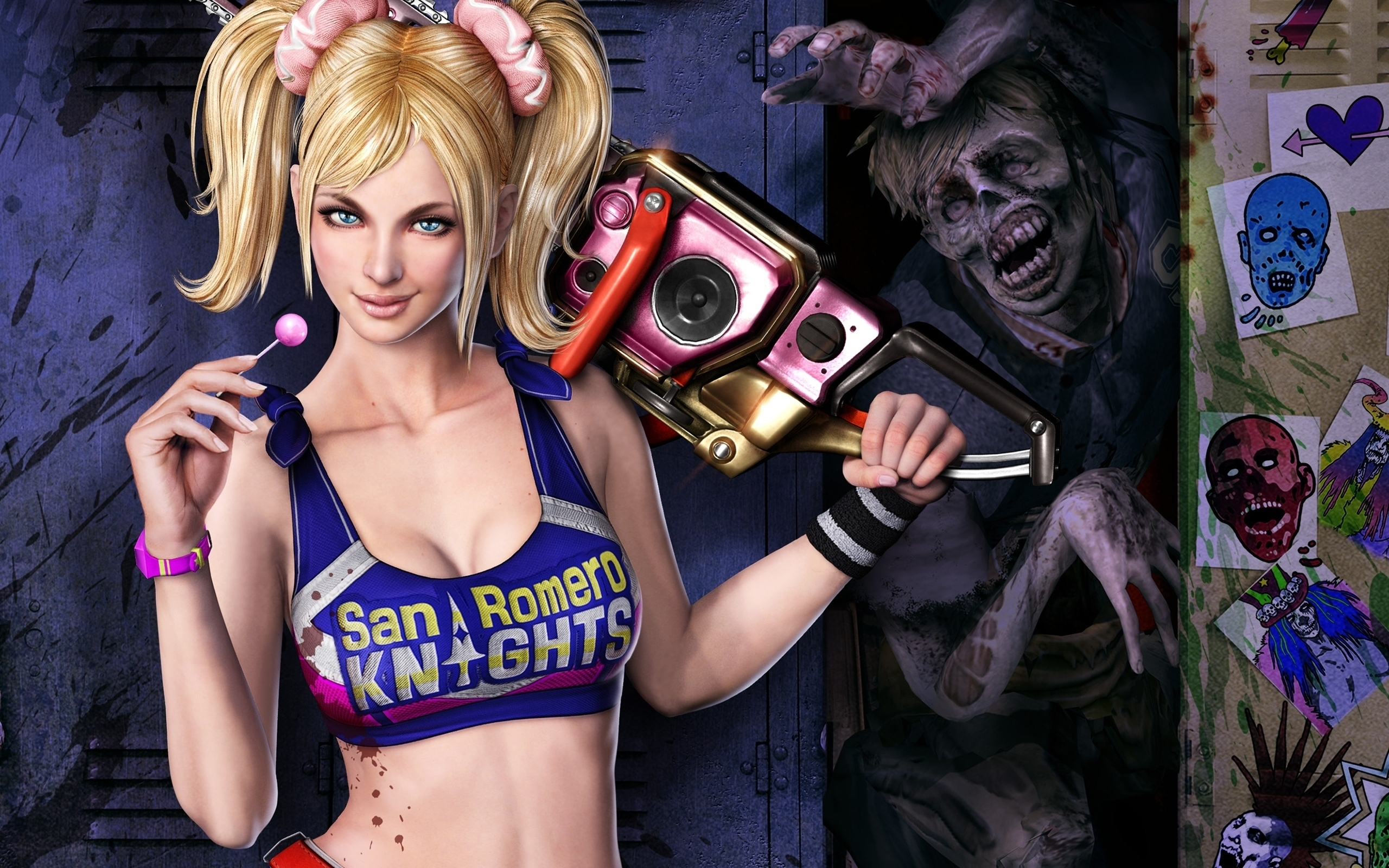 Смотреть Lollipop Chainsaw - Джульетта Старлинг в полном размере