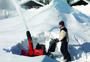 Немного о снегоуборочной технике